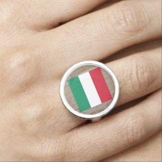 Designer Hungary Flag Box Rings