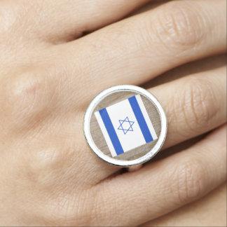 Designer Israel Flag Box Rings