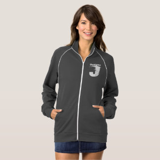 Designer J Women's Fleece Track Jacket