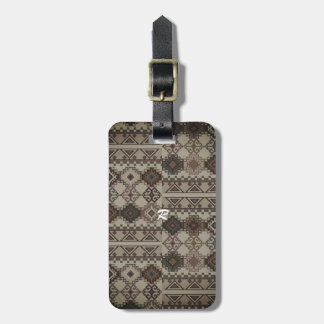 Designer Luggage Tag