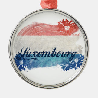 Designer Luxembourg Metal Ornament
