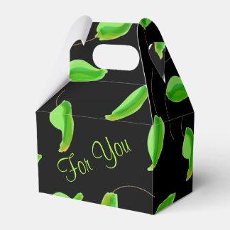 Designer New Leaf Favor Box