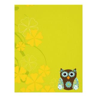 Designer Owl Alice Letterhead