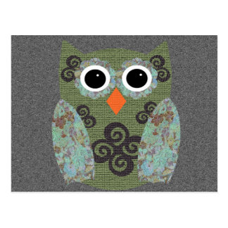 Designer Owl Rosie Post Cards