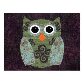 Designer Owl Rosie Postcard