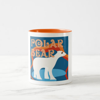 Designer Polar Bear Coffee Mug
