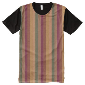 Designer Printed Panel T-Shirt