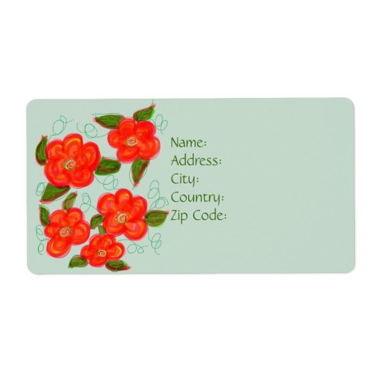 Designer Return Or Shipping Label