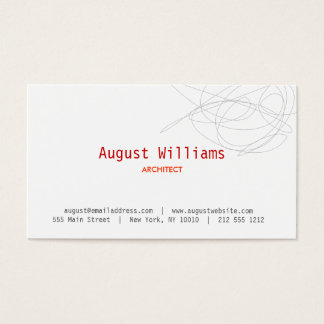 DESIGNER SCRIBBLE Business Card