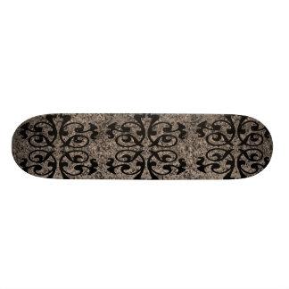 designer scroll skate deck