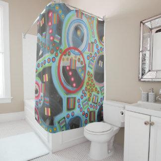 "Designer Shower Curtain ""Blackhole"""