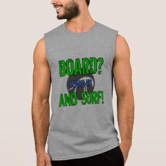 Designer sleeveless, SURFESTEEM Co. brand. Sleeveless Shirt