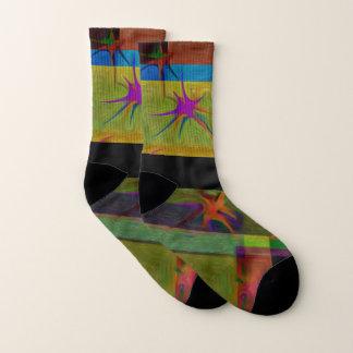Designer Small All-Over-Print Socks 1