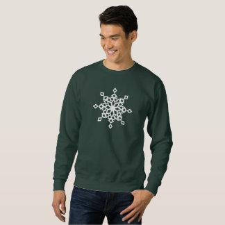 Designer Snowflake Christmas Sweatshirt