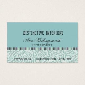 Designer Stylish Cool Soft Colors Business Card