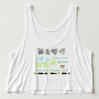 Designer T/Shirt Tank Top