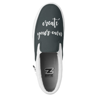 Designer Template Street-Cred Create Your Own Slip-On Sneakers