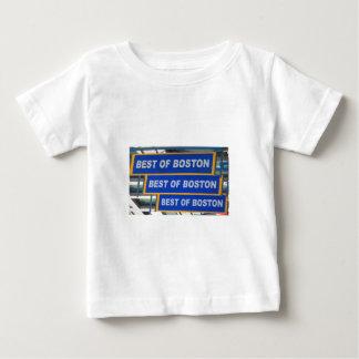 Designer TEXT Best of Boston USA America T Shirts