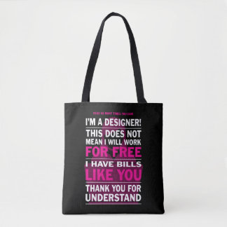 Designer Tot's Tote Bag