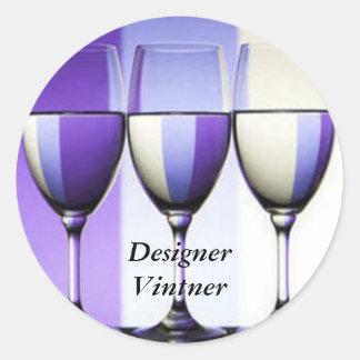 Designer Vinter Winery Wine Labels