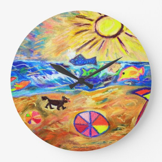 DESIGNER WALL CLOCK - OCEANVIEW - TOP GIFTS