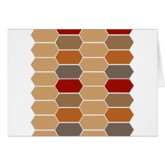 DESIGNERS BROWN VINTAGE MOROCCO CARD