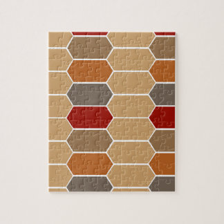 DESIGNERS BROWN VINTAGE MOROCCO JIGSAW PUZZLE