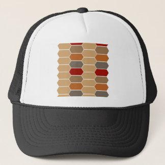 DESIGNERS BROWN VINTAGE MOROCCO TRUCKER HAT