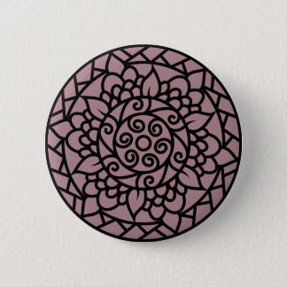 Designers button : with Black mandala