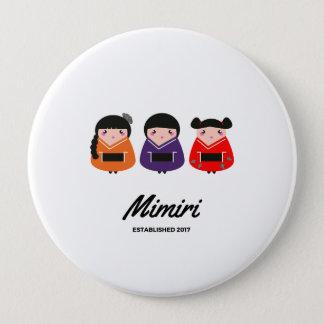 Designers button with Geishas / Original edition