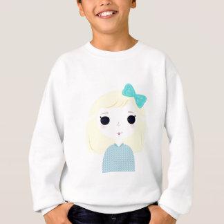 Designers cute blond Manga Sweatshirt