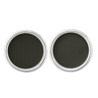 Designers cute earrings : silver and black cuff links