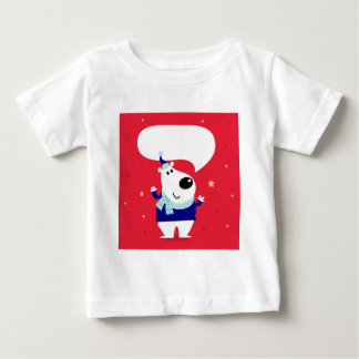 Designers edition with Arctic teddy Baby T-Shirt