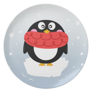Designers Editon : Sweet penguin Party Plate