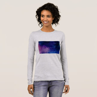 Designers elegant t-shirt with Purple cave