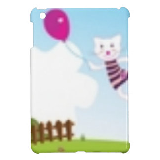 Designers flying kitten with Balloon Case For The iPad Mini