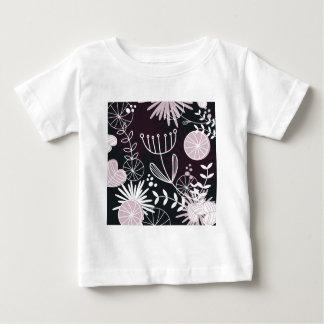 Designers folk black pattern baby T-Shirt