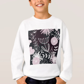 Designers folk black pattern sweatshirt