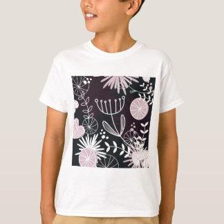 Designers folk black pattern T-Shirt