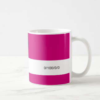 Designer's Fuel Container 0/100/0/0 Coffee Mug