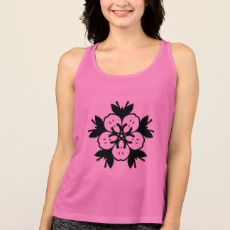 Designers girls t-shirt : with Floral mandala