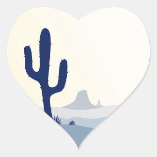 Designers heart - shaped Sticker : Arizona