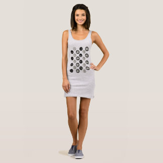 Designers lady dress : with Dots