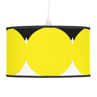 Designers lamp : black yellow