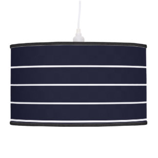 Designers lamp shade : with Stripes