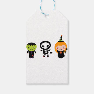 Designers little cute Halloween creatures Gift Tags