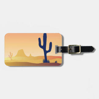 Designers luggage tag : with Dessert