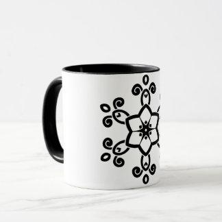 Designers luxury mug : black, white