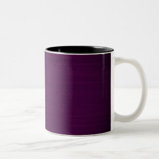 Designers luxury mug : Purple wood