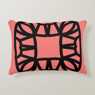 Designers mandala pillow : black pink